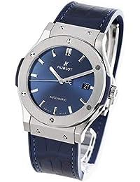 ウブロ クラシック フュージョン チタニウムブルー アリゲーターレザー 腕時計 メンズ HUBLOT 511.NX.7170.LR[並行輸入品]