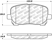 StopTech 309.09230 Street Performance Front Brake Pad [並行輸入品]