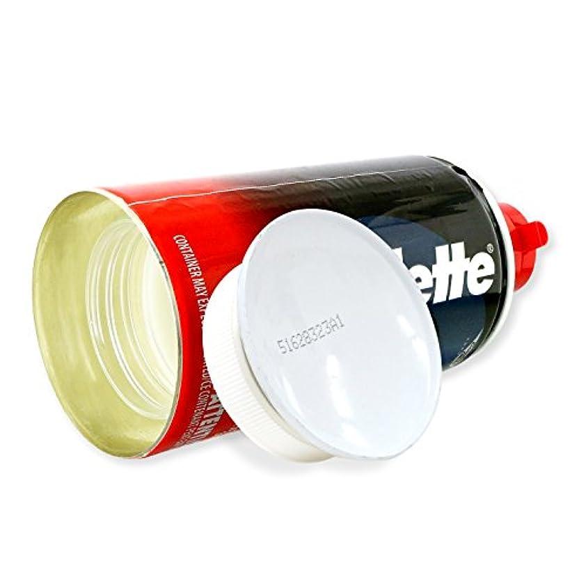丘リップ木製隠し金庫 シェービングクリーム型 収納 セーフティボックス 『SECRET SAFE シークレットセーフ』(OA-666) Gillette Shaving Cream アメリカン雑貨 米国直輸入 貴重品の保管 タンス貯金 へそくり 防犯 スパイグッズ