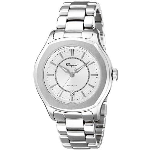 [サルヴァトーレ・フェラガモ]Salvatore Ferragamo 腕時計 LUNGARNO シルバー文字盤 自動巻 FQ1040013 メンズ 【並行輸入品】