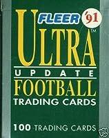 1991Fleer Ultra更新NFL Football Factory Set with BRETT FAVREルーキーカード