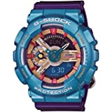 カシオ Casio - G-Shock - S Series - Auto-LED - Purple/Blue/Gold/Pink - GMAS110HC-6 女性 レディース 腕時計 【並行輸入品】