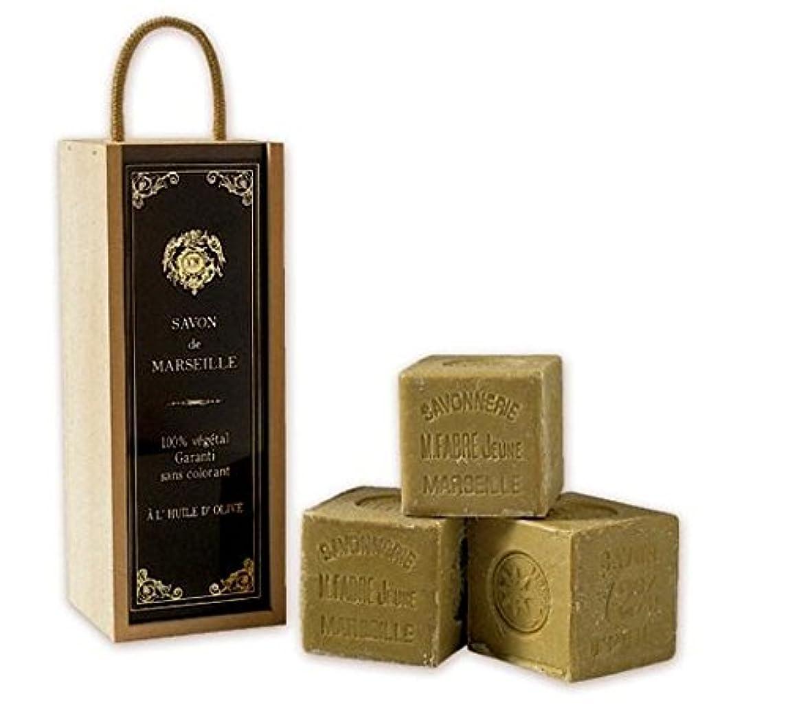 毎月含めるスリップシューズMARIUS FABRE サボン ド マルセイユ オリーブ ビッグキューブギフト(無香料)