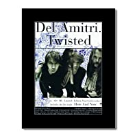 DEL AMITRI - Twisted Mini Poster - 28.5x21cm