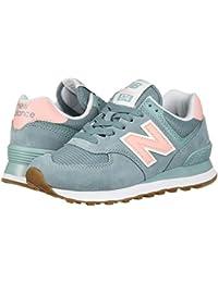 [new balance(ニューバランス)] レディースランニングシューズ?スニーカー?靴 WL574v2 Smoke Blue/Himalayan 5.5 (22.5cm) B - Medium