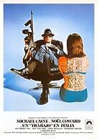 イタリアの仕事-マイケル・ケイン-スペイン語–輸入された映画の壁ポスター印刷– 30CM X 43CM