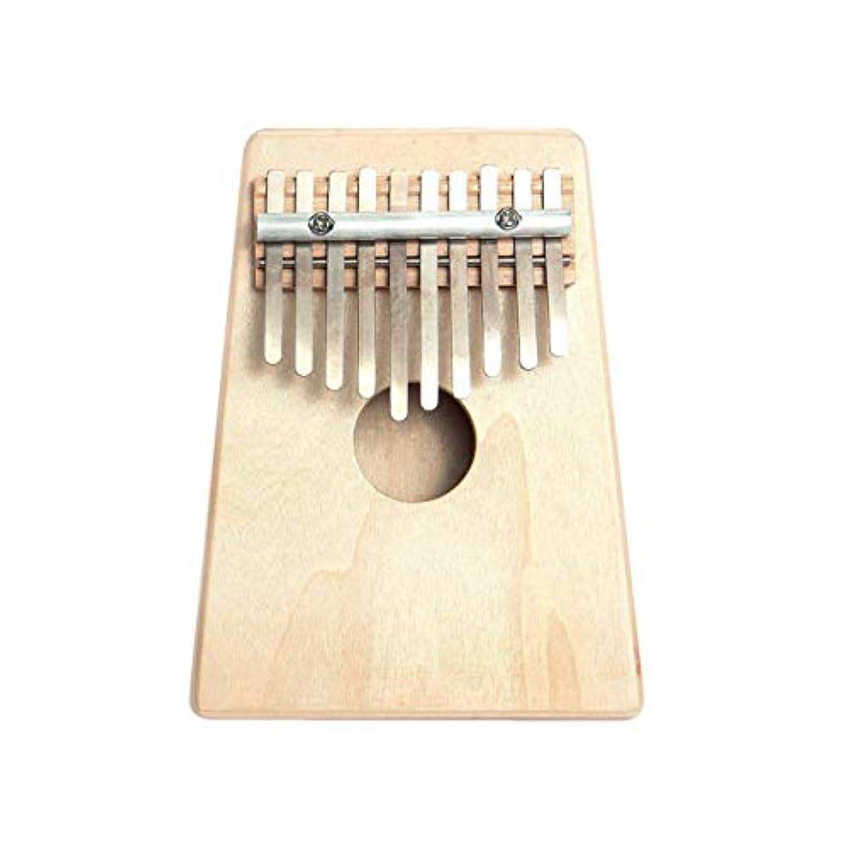 移動北米のどDeeploveUU 10キーフィンガーmbiraカリンバサムピアノパインウッドミニポータブルマリンバパーカッション楽器ギフト初心者用
