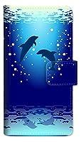Google Pixel 3 手帳型 スマホ ケース カバー イルカ A nk-004s-px3-dr1001