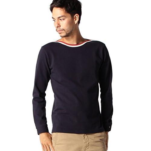 (ビームス) BEAMS / ショルダーライン ボートネック Tシャツ 11140501592  NAVY L