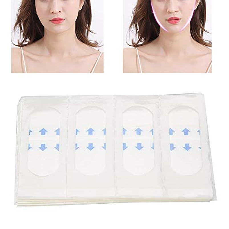 40枚 顔のステッカー Vライン フェイス美容ツール 薄型テープ