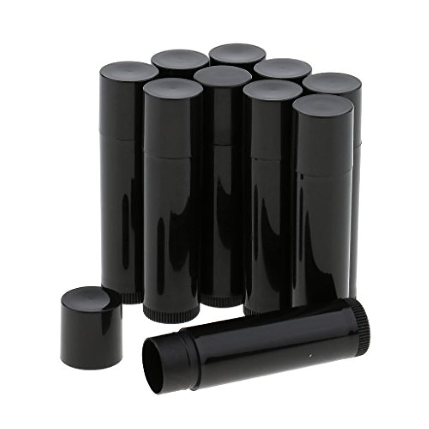 仕様憎しみ誠実さBaosity 10個 空ボトル チューブ 化粧品 コスメ DIY 詰替え 便利 3色選べ - ブラック