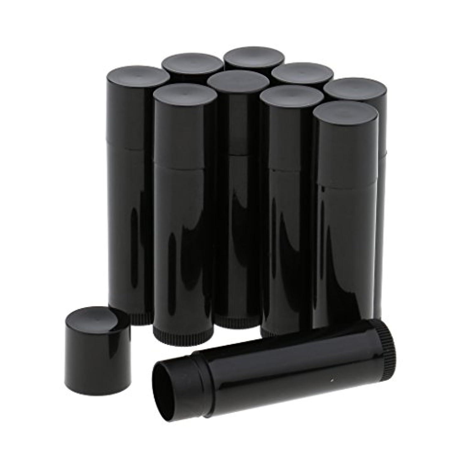 大破反射荒涼としたBaosity 10個 空ボトル チューブ 化粧品 コスメ DIY 詰替え 便利 3色選べ - ブラック