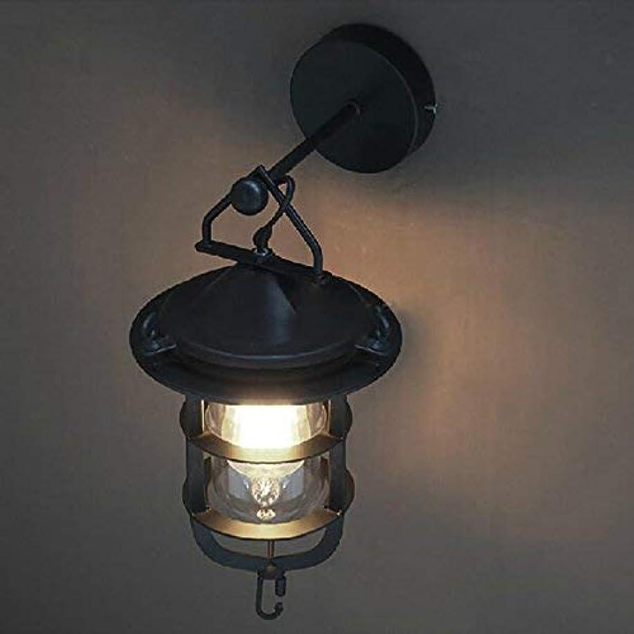 ブロッサムお香通り壁面ライト, ブラックメタルキャリッジウォールランプ用廊下寝室虚栄心ライト照明器具Sconceバーカフェ、ブラック AI LI WEI (Color : Black)