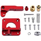 LEOWAY Ender 3 Extruder Upgraded Replacement, Aluminum MK8 Drive Feed 3D Printer Extruders for Creality CR-10, CR-10S, CR-10 S4 and CR-10 S5 Right Hand Version