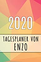 2020 Tagesplaner von Enzo: Personalisierter Kalender fuer 2020 mit deinem Vornamen
