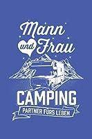 Campingpartner: Notizbuch / Notizheft fuer Wohnmobil Wohnmobil Reisemobil Womo Camper A5 (6x9in) liniert mit Linien