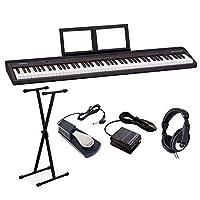 Roland GO-88P 電子ピアノ セミウェイト88鍵盤 キーボード Xスタンド・ダンパーペダル・ヘッドホンセット ローランド