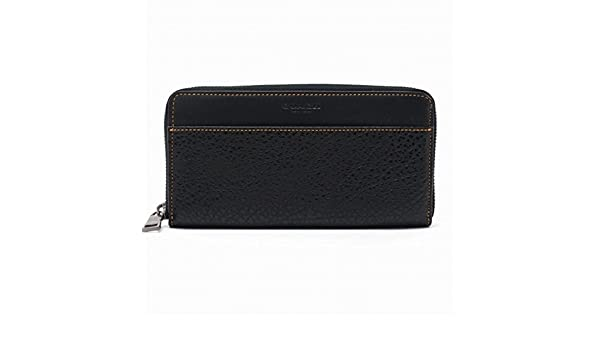 4b2c32431e7f Amazon | [コーチ] COACH 財布 メンズ (長財布) ラウンドファスナー レザー 12130BLK [アウトレット品] [並行輸入品]  | 財布