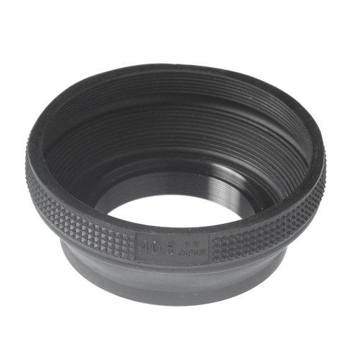 ETSUMI ラバーフードII 40.5mm用 ブラック E-6570