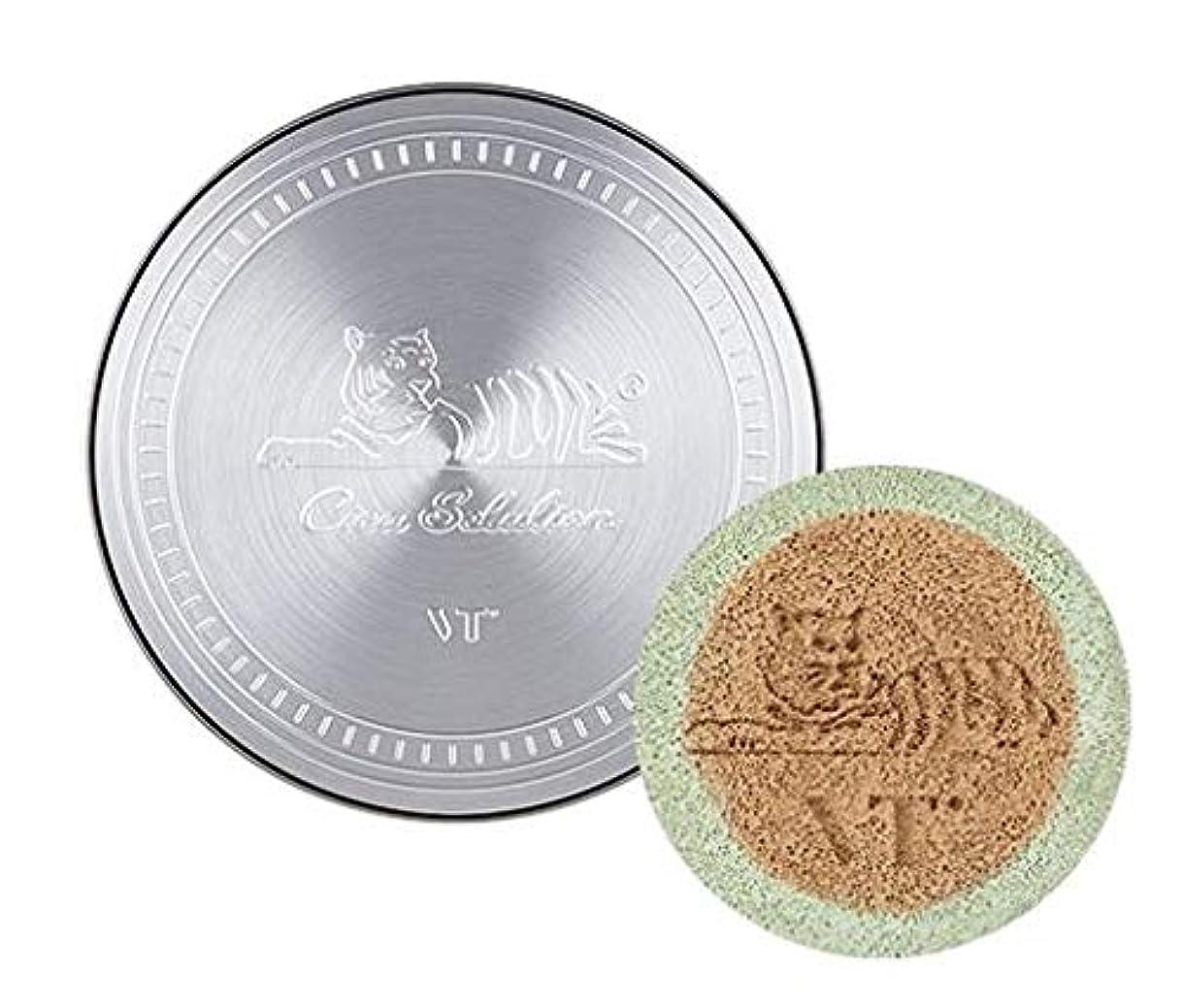 マット現実儀式VT Cica Redness Cover Cushion /ドネスカバークッション本品14g+リフィル14g(#21号ライトベージュ) [並行輸入品]