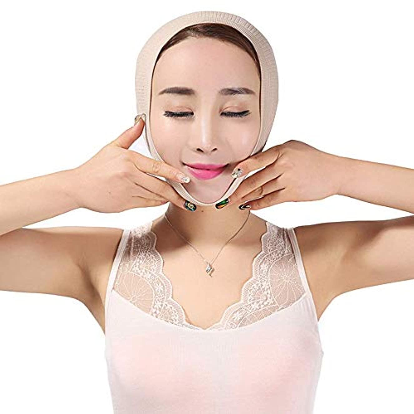 聖職者藤色スキップ薄い顔の器械のマスクの改装の包帯Vの表面持ち上がることの引き締めの美顔術の二重最大の顔のマッサージャー