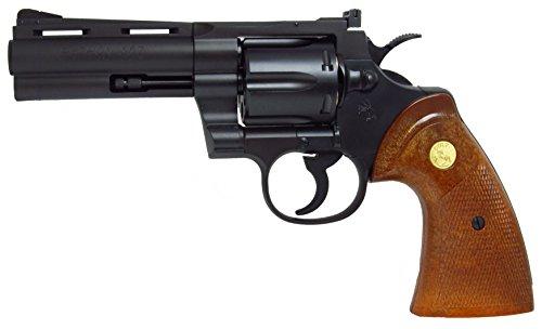 タナカ Colt パイソン 4インチ R-MODEL HW 18歳以上ガスリボルバー