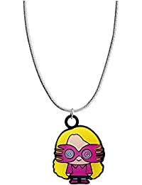 Harry Potter Silver Plated Luna Lovegood Chibi Necklace Pendant