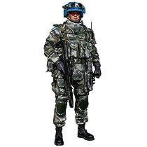 中国人民解放軍 平和維持部隊 国連平和維持活動 1/6 アクションフィギュア 78062