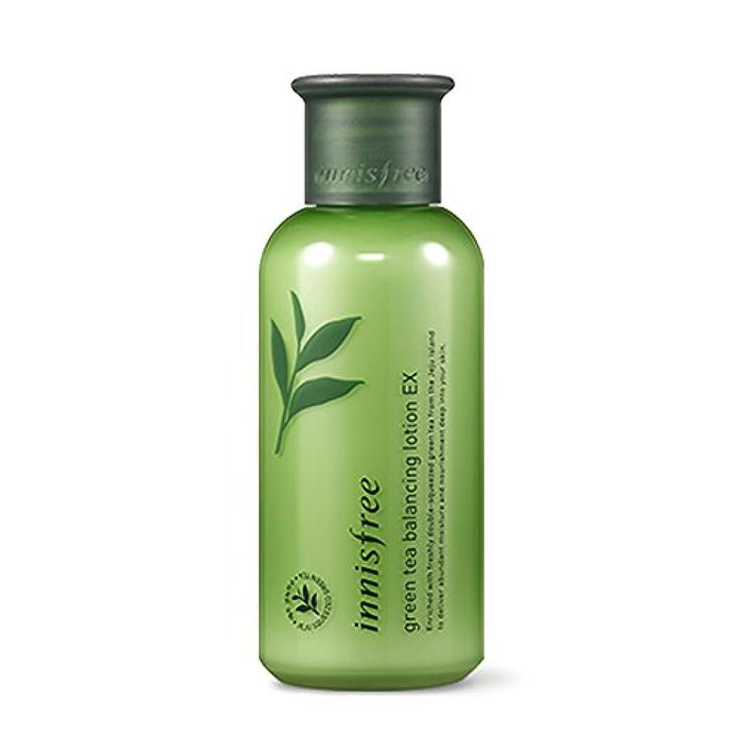 イニスフリーグリーンティーバランシングローション160ml「2018新製品」 Innisfree Green Tea Balancing Lotion 160ml