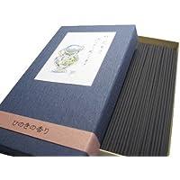 淡路島 香老舗 淡路梅薫堂の煙の少ないお線香 微煙 けむりの少ない 竹炭爽力ひのき (60g)
