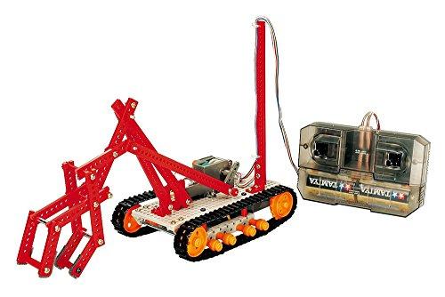 タミヤ 楽しい工作シリーズ No.170 リモコンロボット製作 クローラータイプ  70170