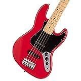 Fender フェンダー Made in Japan Hybrid II Jazz Bass® V, Maple Fingerboard, Modena Red