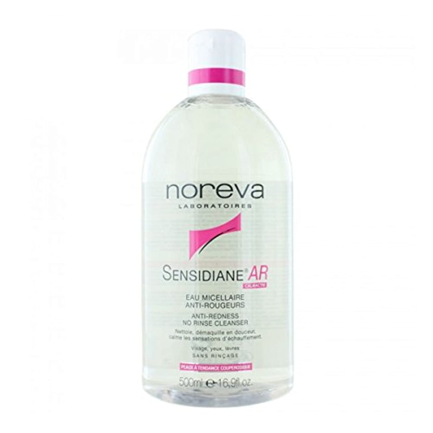 遅らせる禁じるブリーフケースNoreva Sensidiane Ar Anti-redness No Rinse Cleanser 500ml [並行輸入品]