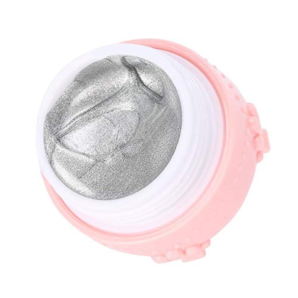 不忠窒息させる粘着性ジェルネイル キラキラ素敵な 3DネイルUVジェル 強力な接着 女性 良い贈り物(銀色)