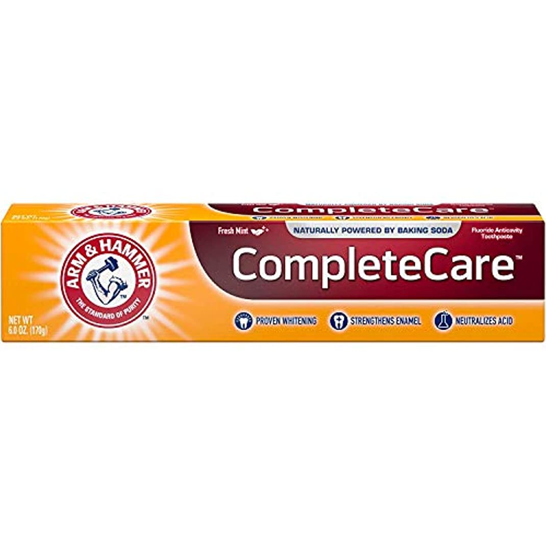 騙す応じる泣き叫ぶArm & Hammer Fluoride Anti-Cavity Toothpaste - 6 oz - 3 pk by Arm & Hammer