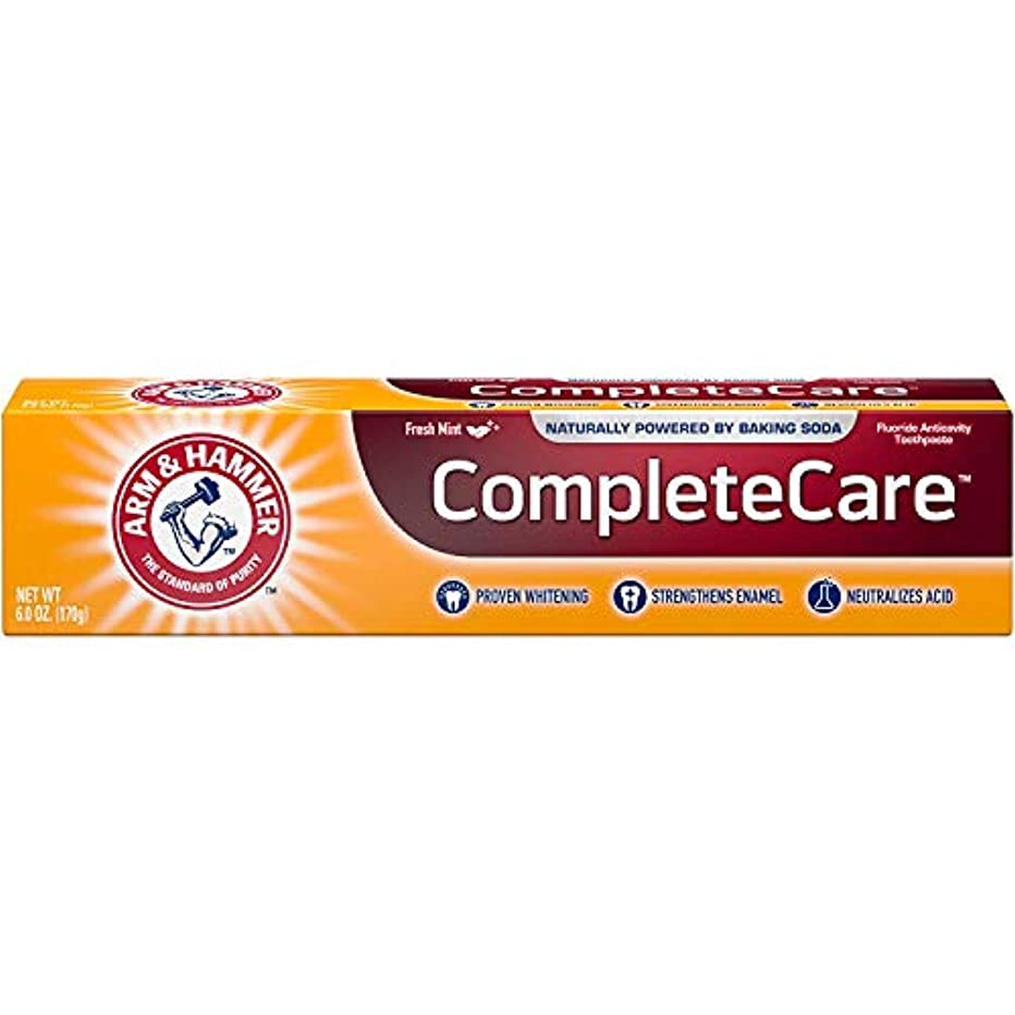 節約効率的ダイバーArm & Hammer Fluoride Anti-Cavity Toothpaste - 6 oz - 3 pk by Arm & Hammer