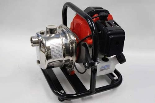 農機・建機の洗浄に 2ストローク エンジンポンプ 25mm