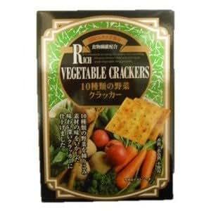 前田クラッカー 10種類の野菜クラッカー5枚×6袋×20入