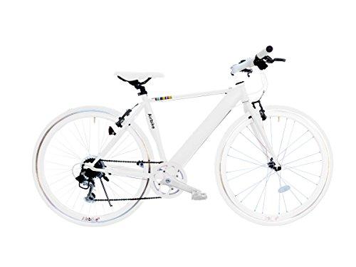 Airbike クロスバイク 700C 自転車 シマノ7段変速 (ホワイト)