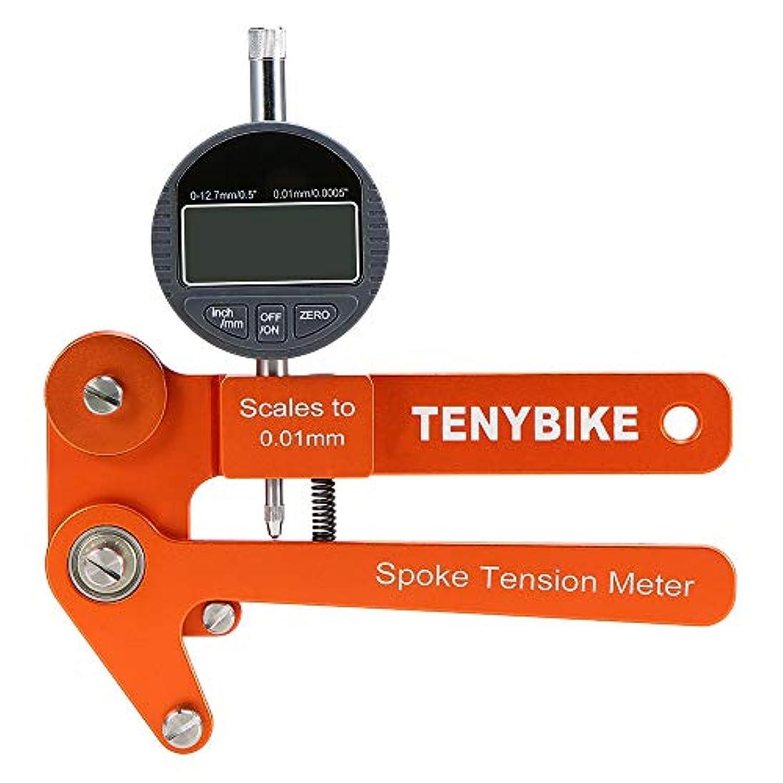 振るぬるい教Rakuby 自転車スポークテンションメーター サイクリングホイール スポークテンショメーター 自転車ホイール ビル ダー測定ツール