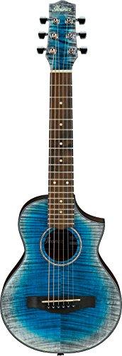 B Ibanez/ミニアコースティックギター EWP32FMWB-GBL ミニギター トラベルギター アイバニーズ  アウトドア