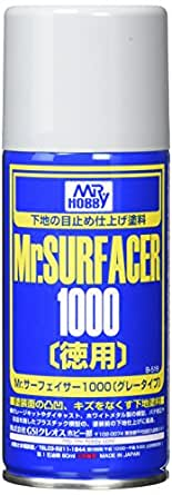 GSIクレオス Mr.サーフェーサー 1000 徳用 スプレー 170ml ホビー用仕上材 B519