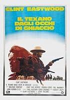 THE OUTLAW JOSEY WALES –クリント・イーストウッド–イタリア輸入映画ウォールポスター印刷– 30CM X 43CM