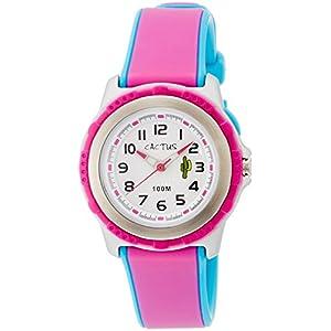 [カクタス]CACTUS キッズ腕時計 10気圧防水 ライト付 CAC-78-M55 ガールズ 【正規輸入品】
