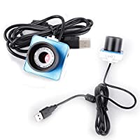 1.25インチ望遠鏡デジタル電子接眼レンズカメラ Astrophotography カメラ USBインターフェースポートマニュアルフォーカスアクセサリー