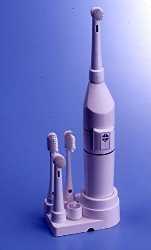 リブ小人変動するロータリー歯ブラシ