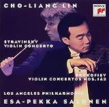 プロコフィエフ:ヴァイオリン協奏曲第1番&第2番、ストラヴィンスキー:ヴァイオリン協奏曲二長調 画像