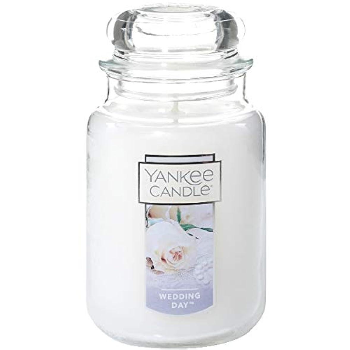デマンドロープ分布YANKE CANDLE(ヤンキーキャンドル):YCジャーL ウェディング YK0060512