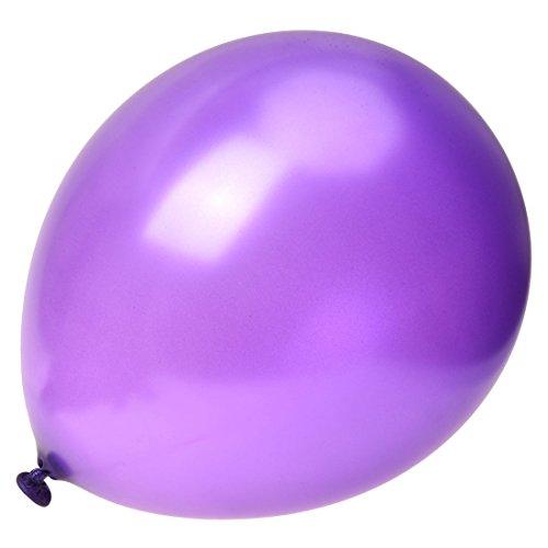 SODIAL(R) パープル 12インチ ヘリウム品質ラテックスバルーン- パックに50個