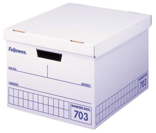 フェローズ バンカーズボックス 703 A4サイズ 青 3枚1セット 収納ボックス ふた付き 0970502